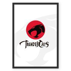 Poster ThunderCats do Studio Joiltonmelo por R$45,00
