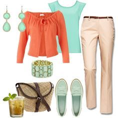 LOLO Moda: Gorgeous Women Outfits...love these colors/good outfit for work
