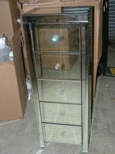 Sophie Rose - Venetian mirror tall boy chest of drawers, Venetian Style by PRS Group UK Ltd, http://www.amazon.co.uk/dp/B00H0MH0KO/ref=cm_sw_r_pi_dp_eTR7sb0DENSDB