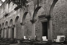 Pousada De Santa Maria Do Bouro in Portugal is one of the 13 Atmospheric Monasteries Where You Can Stay the Night according to Afar.com by Emily Sandor - July 2, 2014  http://www.afar.com/places/restaurante-da-pousada-de-santa-maria-do-bouro-terreiro?context=wanderlist