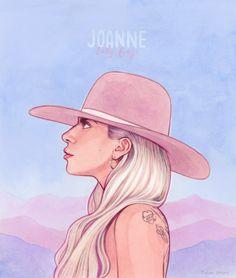My favorite album joanne littlemonster ladygaga joanne album favorite ❤❤ gaga Images Lady Gaga, Lady Gaga Pictures, Tatuagem Lady Gaga, Lady Gaga Tattoo, Joanne Lady Gaga, Illustration Art, Illustrations, Celebrity Drawings, Desenho Tattoo