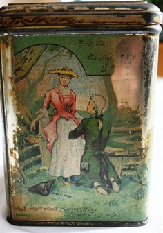 Victorian McCall & Stephen Glasgow biscuit tin by Tinternet