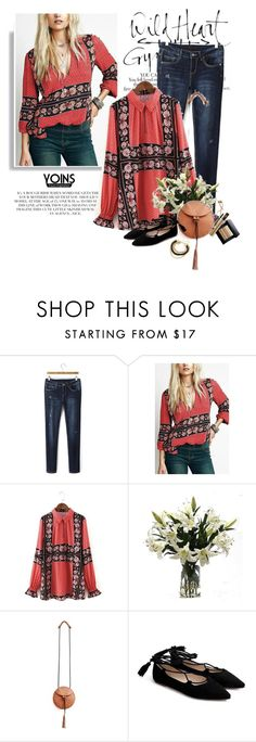 """""""get the look - Yoins ⤵"""" by yexyka ❤ liked on Polyvore featuring Karl Lagerfeld, Rachel, Distinctive Designs, yoins, yoinscollection and loveyoins"""