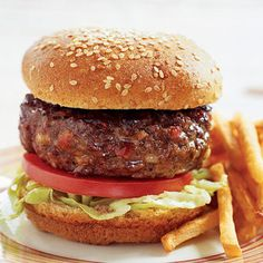 Se volvió costumbre ver una hamburguesa y recordar a @enformadefichas (Receta)