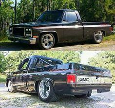 Black C10 Truck