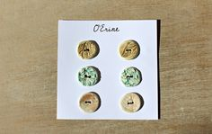 Ceramic button, porcelain button, lace ceramic button, leaf button, pastel buttons, romantic button, large ceramic button, - pinned by pin4etsy.com