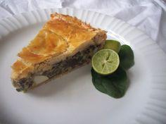 Pastel de acelga (Chard tart) – From Italy to Peru Peruvian Cuisine, Peruvian Recipes, A Food, Good Food, Food Processor Recipes, Healthy Recipes, Healthy Food, Healthy Eating, Vegetarian
