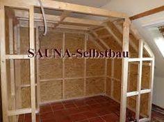 Bildergebnis für sauna unter dachschräge bauen