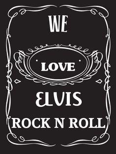 ELVIS~ ROCK N ROLL