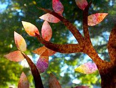 Autumn Window Display - Things to Make and Do, Crafts and Activities for Kids - The Crafty Crow