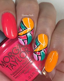 ehmkay nails: Morgan Taylor Street Beats Graffiti Art