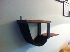 Double decker cat shelves on Etsy, $45.00