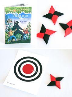 Ideas for getting boys to read at PagingSupermom.com #reading #ninja #book