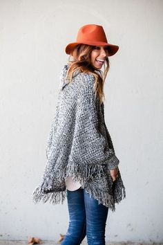 I need this poncho. NEED IT.
