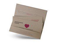 Hochzeitseinladungen und Hochzeitskarten im Ticketstil –Ein Hoch auf uns! Container, Ticket, Form, Invites Wedding, Card Wedding, Tips, Kraft Paper, Ideas
