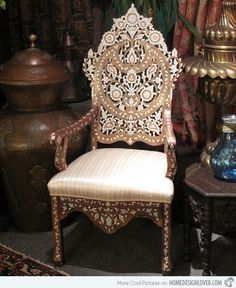 15 Interesting Moroccan Chairs | Home Design Lover