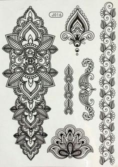 Cheap flower arm, Buy Quality tatoo indian directly from China tattoo sticker Suppliers: 2016 eco-friendly henna temporary body tatoo Indian mandala flower arm tattoo black lace tattoo sticker bracelet Flash Tattoos, Hand Tattoos, Sleeve Tattoos, Maori Tattoos, Tribal Tattoos, Dotwork Tattoo Mandala, Mandala Tattoo Design, Tattoo Designs, Henna Mandala