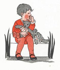 Rie Cramer Het jaar rond editie 1978, ill duimzuigertje | by janwillemsen