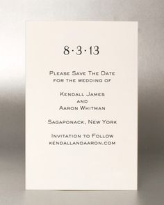 "Do you address save-the-date envelopes with ""and Guest"" or just the name of your invitee? What about children?"