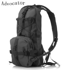 camping yoga Advocator Solid Color Hydration Backpack 2L Water Bag Military Men Bicycle Backpacking Bag Army Ultralight Teenager Daypack * AliExpress Affiliate's buyable pin. Click the VISIT button for detailed description on www.aliexpress.com