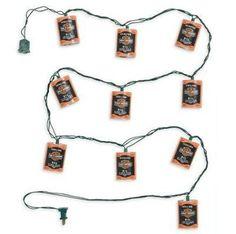 Harley-Davidson Oil Can Party String Lights. 99209-12V