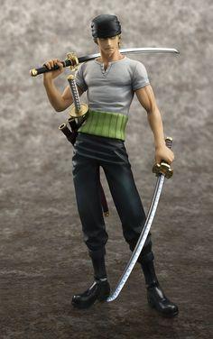 Pas cher Anime One Piece POP Roronoa Zoro 10e anniversaire PVC Action Figure…