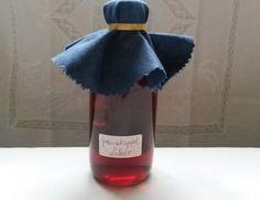 Granatapfel-Likör - Rezept - 08.02.16 abseihen und umfüllen