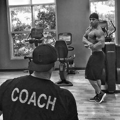 THOUGHTS BECOME THINGS.  My brother @axel_finesse has been with me since 2014 I have prepped him every step of the way - from winning overalls in the NPC - to earning a pro card - to placing in men's physique pro debut and then now already earning points in classic physique for the 2016 Olympia. ____________________________________________  After taking 5th at the New York pro last weekend ( remind you I didn't pull @axel_finesse water - we didn't deplete him or take water pills lol ) REASON…