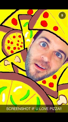 Love Pizza, Snapchat, Ronald Mcdonald, Fictional Characters, Fantasy Characters