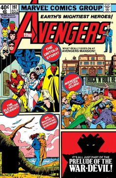 1980 - Anatomy of a Cover - Avengers #197 By George Perez and Bob McLeod