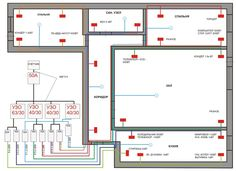Electrical Layout, Electrical Plan, Electrical Wiring Diagram, Electrical Projects, Electrical Installation, Electrical Engineering, House Wiring, Electric House, Small House Plans