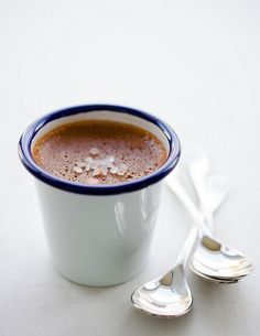 Yes please! Chocolate Pots De Creme with #HimalayanSalt