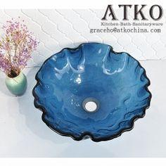 Glass Basin, Glass Vessel Sinks, Bathroom Basin, Clear Glass, Decorative Bowls, Artist, Artists, Bathroom Vanities