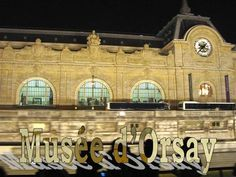 he Musée d'Orsay on the left bank of the Seine, housed in the former railway station, the Gare d'Orsay, an impressive Beaux-Arts edifice built between 1898 and 1900. It holds mainly French art dating from 1848 to 1915, including paintings, sculptures, furniture, and photography, and is probably best known for its extensive collection of impressionist and post-impressionist masterpieces (the largest in the world).