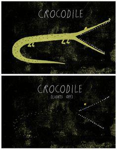 Crocodile by Rob Hodgson, via Flickr.
