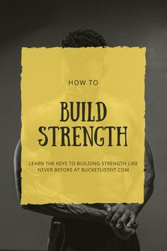 Disover what it takes for you to build strongman like strength. These scientifically backed methods will improve your diet and training to really target improvements to your strength. Click the link to learn more... Group Fitness, Wellness Fitness, Health And Wellness, Endurance Training, Strength Training Workouts, Home Exercise Routines, At Home Workouts, How To Build Strength, Compound Lifts