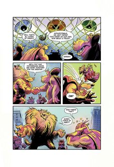 """Page 6 of """"Eye Eye Eye"""" comic written by Ian """"Simpsons"""" Boothby, drawn by Toren Atkinson, colors Tanya Lehoux, letters Christopher Barrett World Wildlife Federation, Spiderman, Letters, Draw, Eye, Superhero, Comics, Animals, Fictional Characters"""