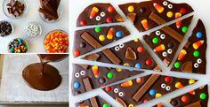 Melt few chocolate bars to create sweet, homemade bark!