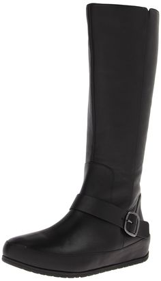 8fb7b890f05 FitFlop Women s Due Tall BK Boot -- This is an Amazon Affiliate link. Click