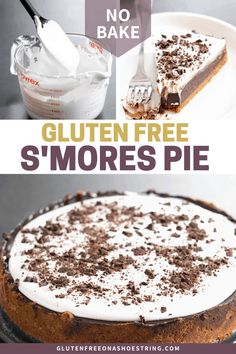 Gluten Free Deserts, Gluten Free Pie, Gluten Free Sweets, Gluten Free Cakes, Foods With Gluten, Gluten Free Cooking, Dairy Free Recipes, Gf Recipes, Pumpkin Recipes
