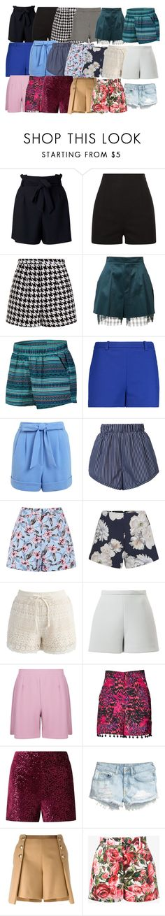 """Shorts"" by azra-99 on Polyvore featuring Miss Selfridge, Emma Cook, Yang Li, Dakine, Emilio Pucci, STELLA McCARTNEY, Finders Keepers, Chicwish, Delpozo and Boohoo"