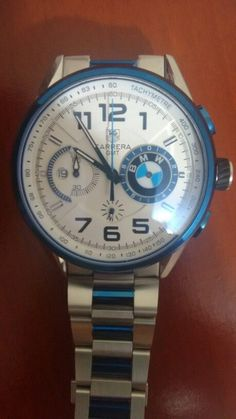 TAG HEUR CARRERA GMT BMW