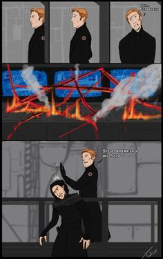 Tank Monsternova >> This star killer isn't cheap Kylo!! I swear half the budget goes to repairs and your conditioner!!!<<<Hux is just so done.