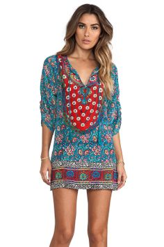 Tolani Sarita Dress in Turquoise from REVOLVEclothing
