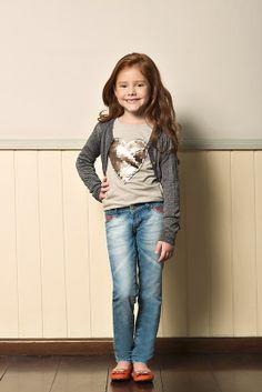 M2A Jeans   Fall Winter 2014   Kids Collection   Outono Inverno 2014   Coleção Infantil   peças   blusa estampada infantil; cardigã infantil; calça jeans infantil; jeans; denim.