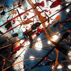 Sogni tra luci e ombre, collage e tecn miste su doppi strati di plastica, 2012 www.visionipoetiche.com