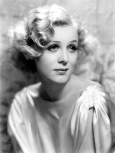 """Gloria Stuart, 1930s - This is the old woman from """"Titanic"""" when she was a gorgeous starlet!"""