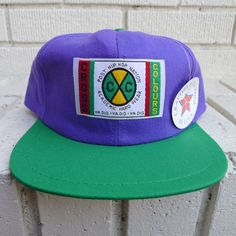Deadstock CROSS COLOURS Hat Post Hip Hop Nation by JointCustodyDC, $74.99 /// www.art-by-ken.com