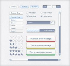 50 Free Web UI, Mobile UI, Wireframe Kits And Source Files For Designers