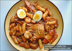 검도쉐프의 맛있는요리 :: 추억의 분식점 시리즈 - 럭셔리 해산물 떡볶이, 쫄깃쫄깃 매콤 달콤
